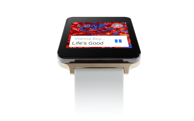 LG G Watch Gold voice