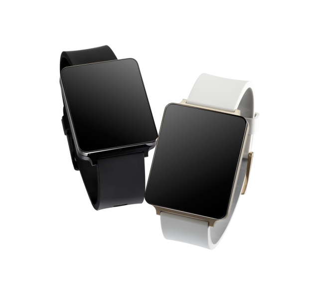 LG G Watch black gold 06