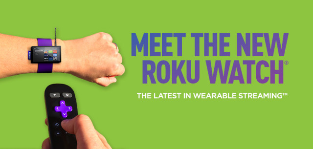 Roku Watch April Fools 2014