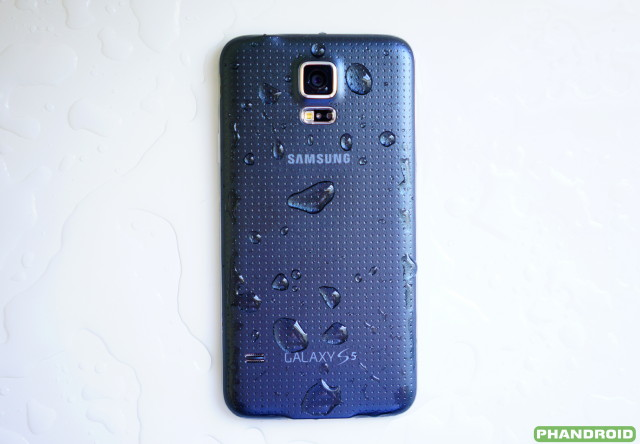 Samsung Galaxy S5 back DSC05780