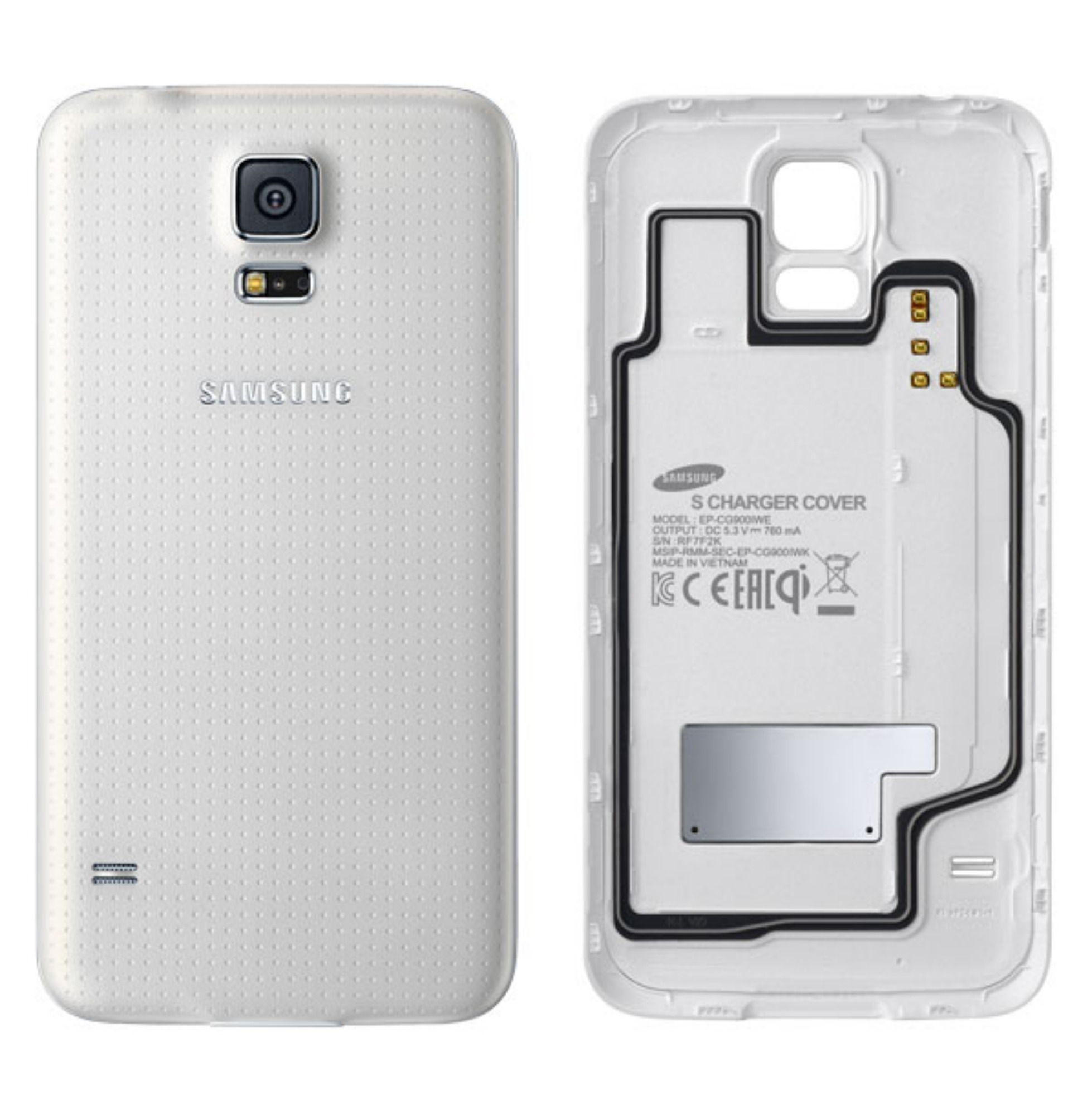Samsung Galaxy S5 Wireless Charging Battery Covers Now