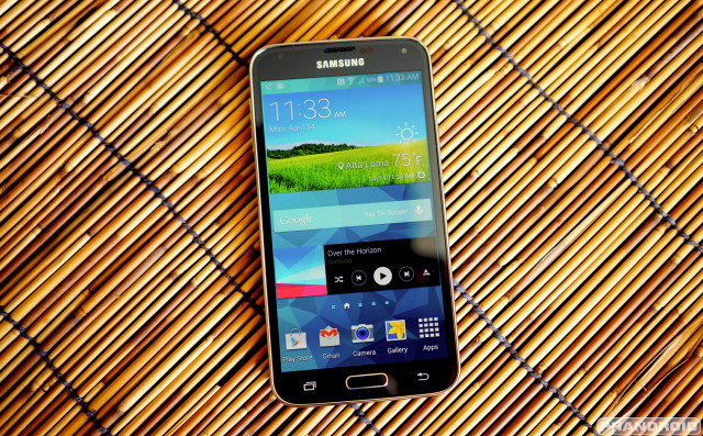 Samsung Galaxy S5 wood DSC05783