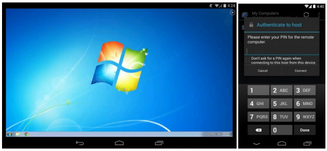 chrome remote desktop android beta