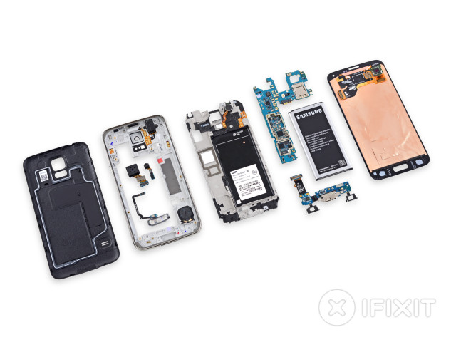 galaxy s5 teardown