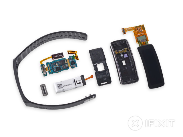 samsung gear fit ifixit teardown