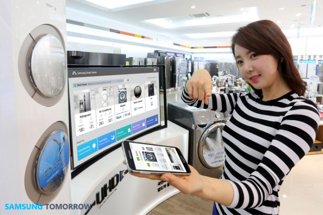 samsung smart home service