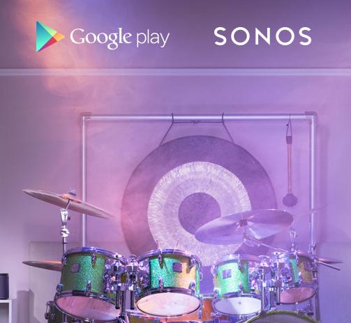 sonos google play