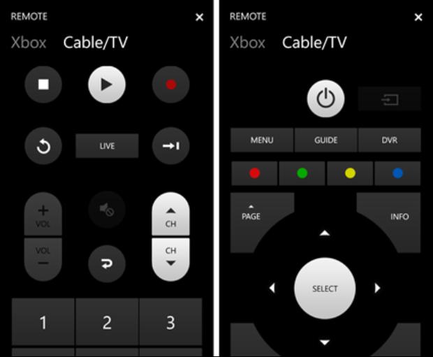 xbox cable remote