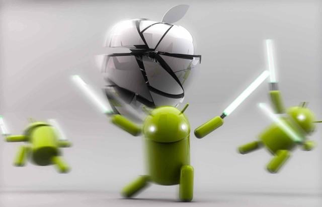 Android-vs-Apple-wallpaper