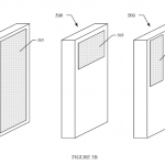 Facebook phone touchpad patent