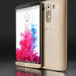 LG G3 gold lockscreen