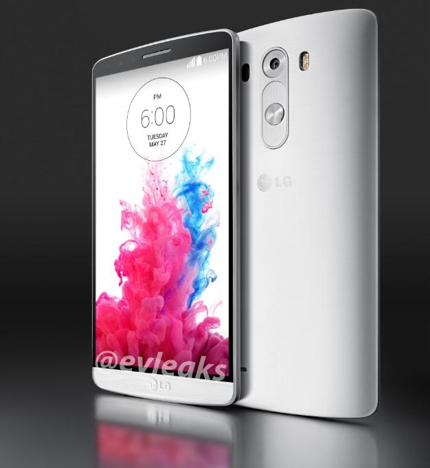 LG G3 white lockscreen