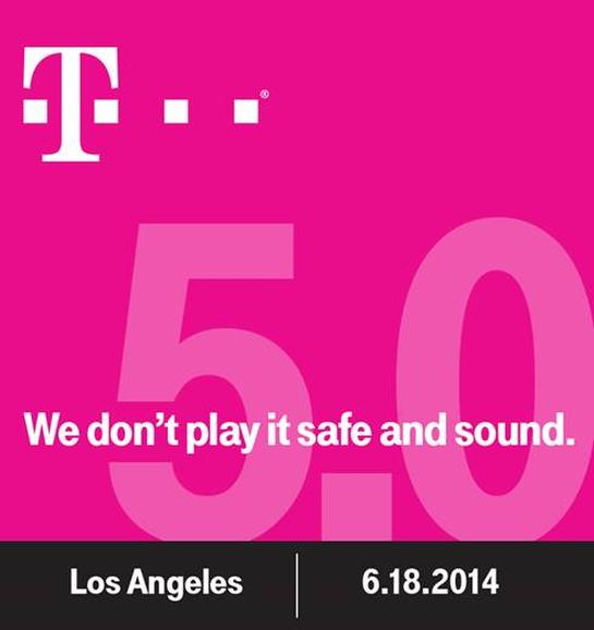 T-Mobile Uncarrier 5.0 invite