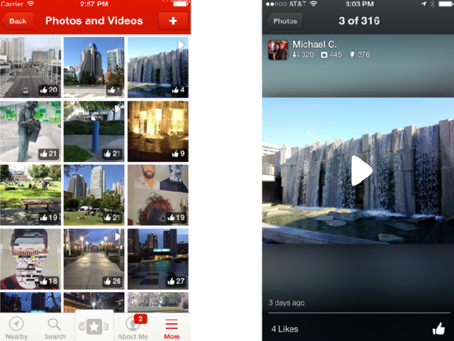 Yelp video upload 3