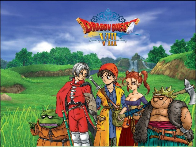 dragon quest 8 banner