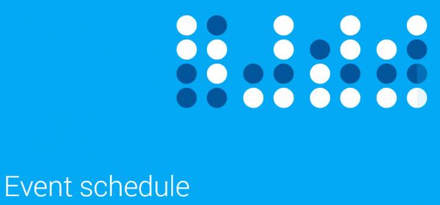 google io schedule