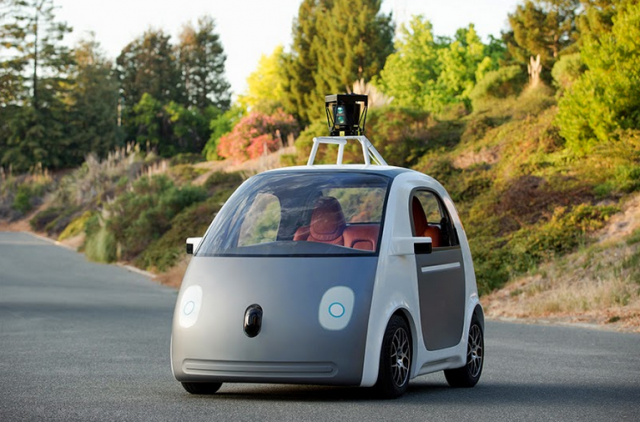 google self driving car prototype 2