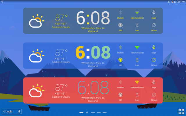 kairo xp theme hd widgets