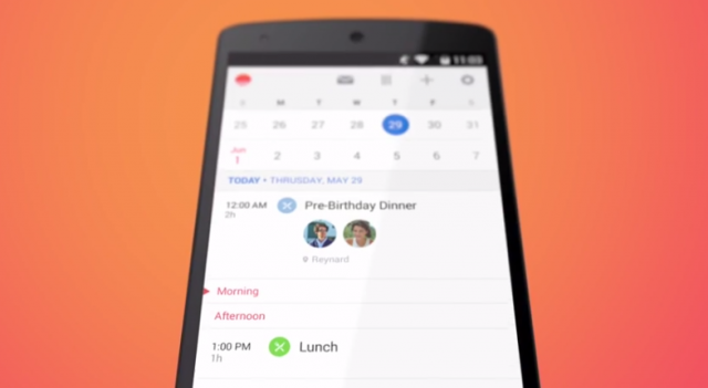 sunrise calendar for android