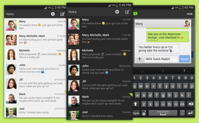 Androidreamer phan favs the best messaging app for android results