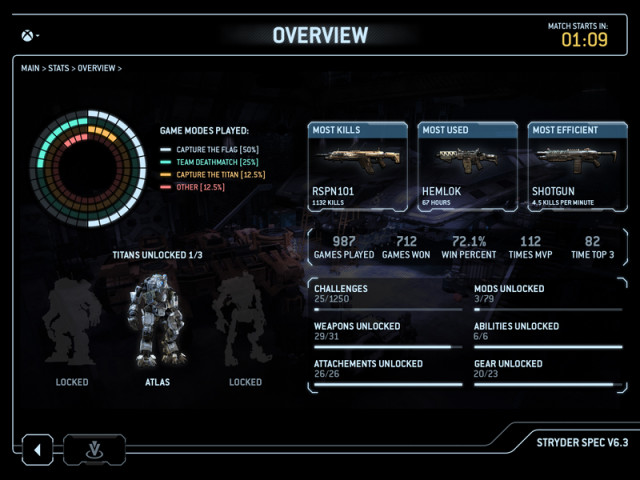 titanfall app screenshot