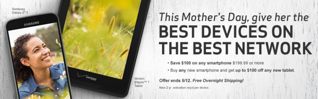 verizon mother's day sale