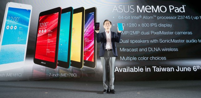 ASUS introduced the next generation MeMO Pad 7 and MeMO Pad 8 at
