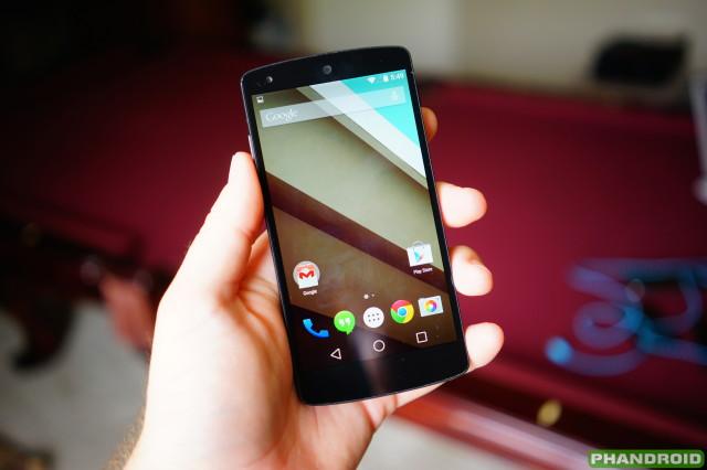 Android L Developer Preview DSC06022