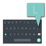 Android L Keyboard icon