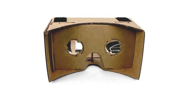 Google Cardboard eye holes