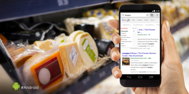 Google Search ingredients