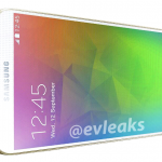 Samsung Galaxy F Glowing Gold evleaks