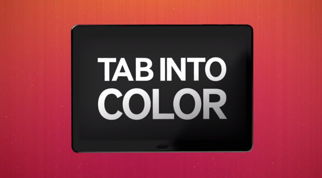 Samsung Galaxy Premier Tab Into Color 2014 event