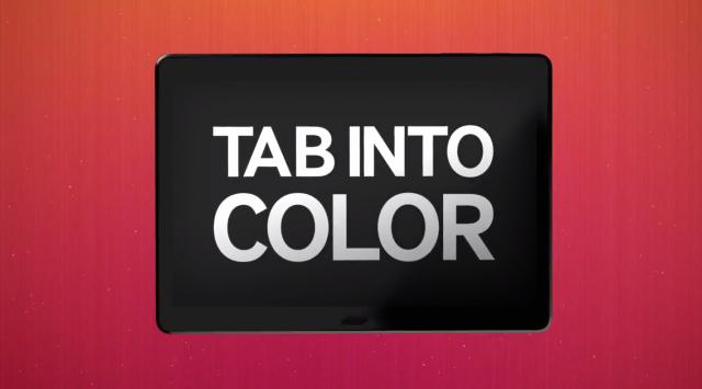 Samsung Galaxy Premier Tab Into Color 2014 event