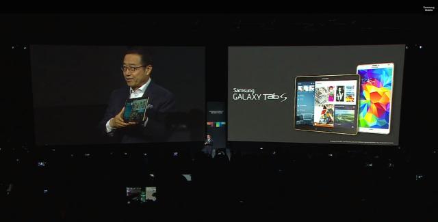 Samsung Galaxy Tab S event 1