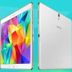 Samsung Galaxy Tab S white 1