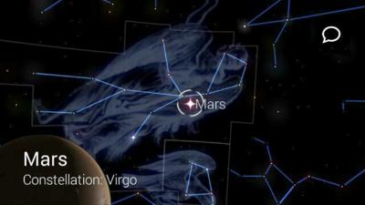 Star Chart Google Glass