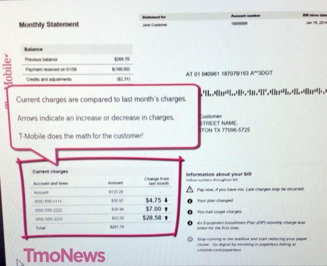 T-Mobile Simplified Billing 2