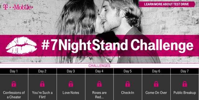 T-Mobile Test Drive 7 night stand