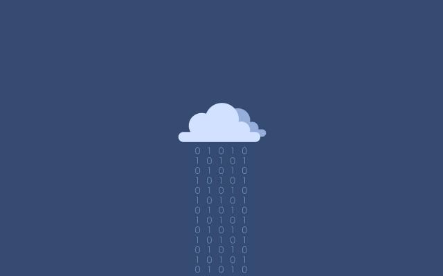 binary rain