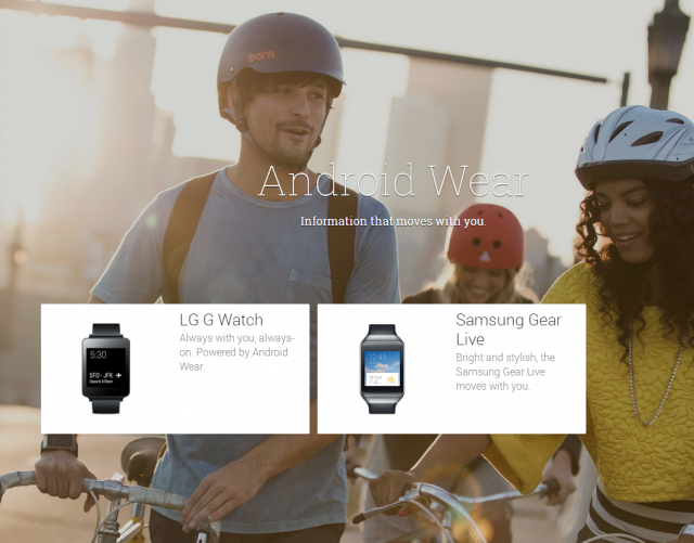 lg g watch gear live google play