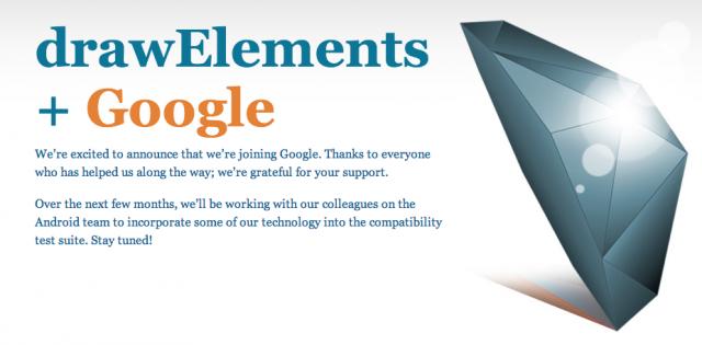 Google DrawElements acquisition
