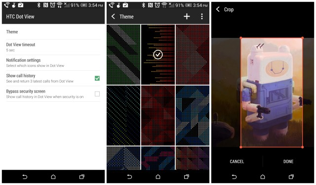HTC Dot View app update