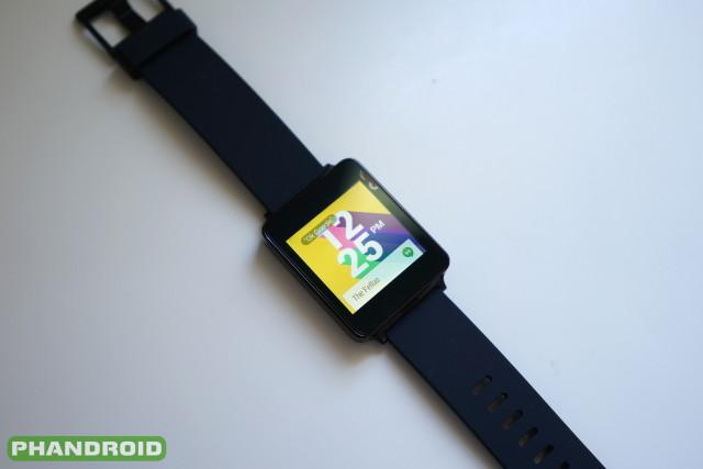 LG G Watch Android Wear DSC06105