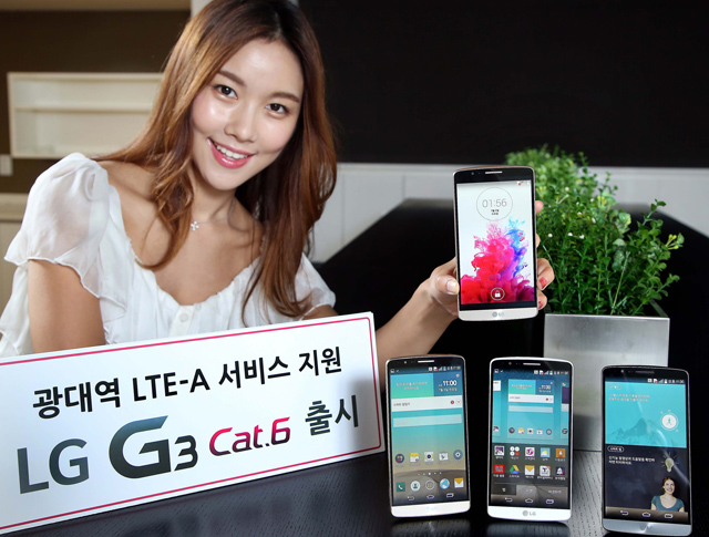 LG G3 Cat 6 official