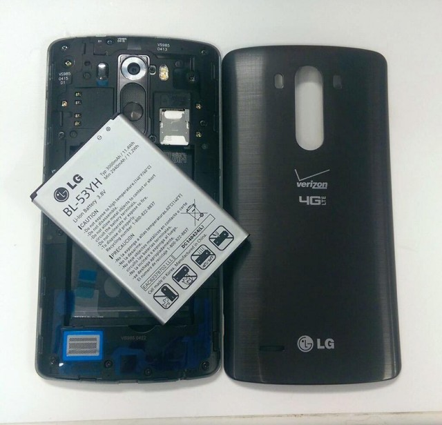 LG G3 Verizon removable battery