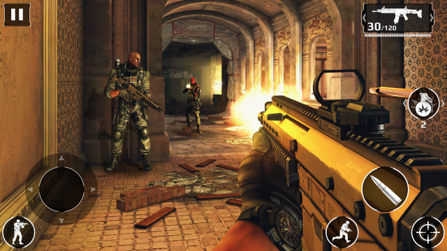 Modern Combat 5 Gameloft screen shot1