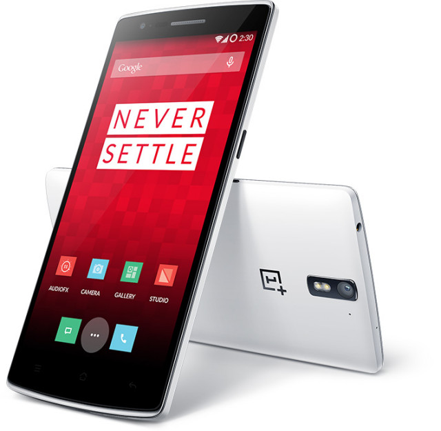 OnePlus One never settle
