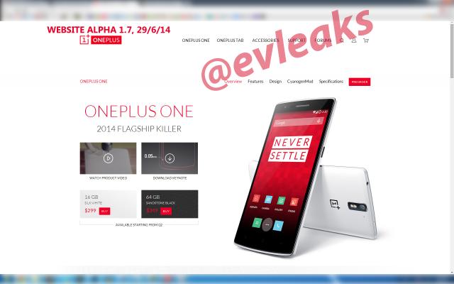 Oneplus tablet evleaks