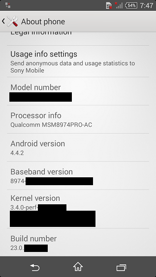 Sony Xperia Z3 Compact specs